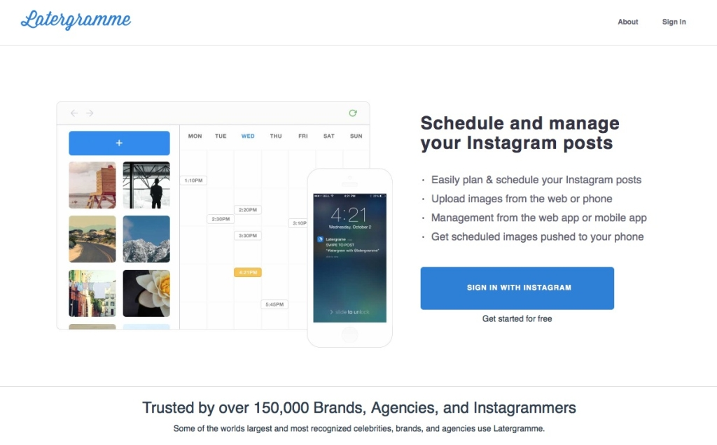 Latergram - Upload and Schedule your Instagram Posts
