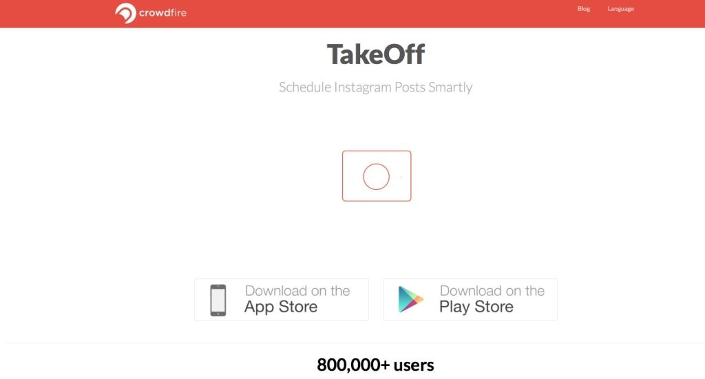 TakeOff - Schedule Instagram Posts Smartly