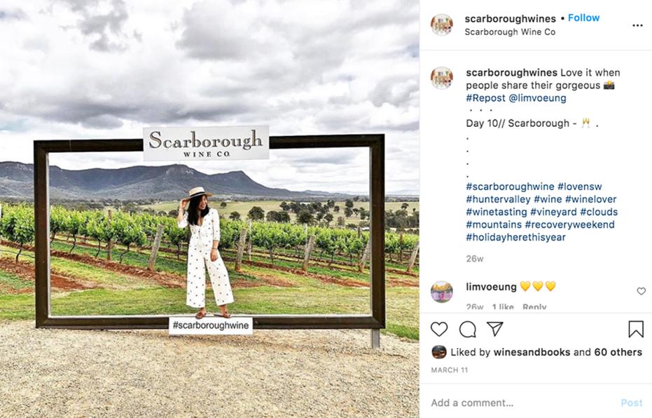 Instagram Scarborough Wine